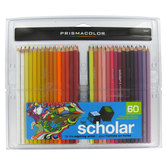 Prismacolor Scholar Colored Pencils - 60 Piece Set